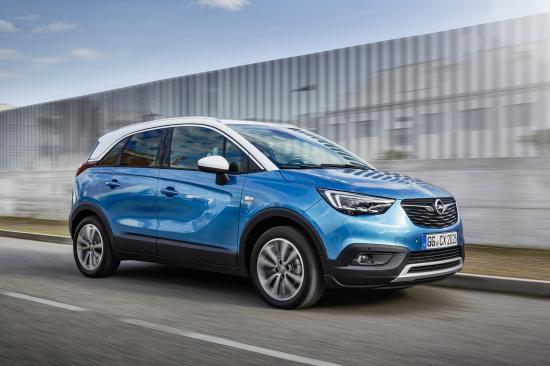 Image of Opel Crossland X 1.2