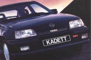 Picture of Opel Kadett GSI 16V (Type E)