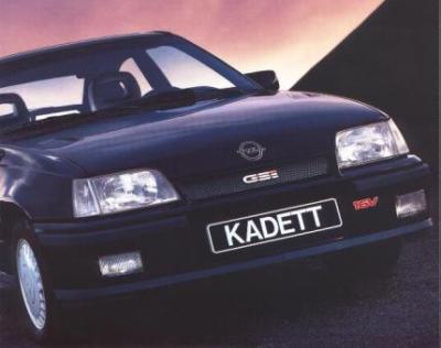 Image of Opel Kadett GSI 16V