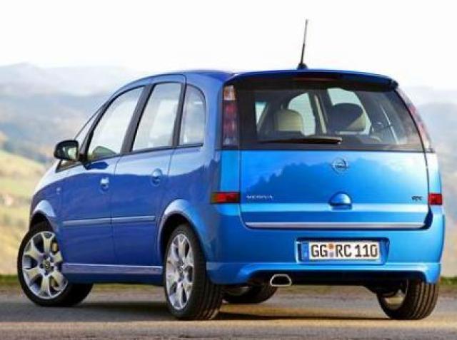 Image of Opel Meriva OPC