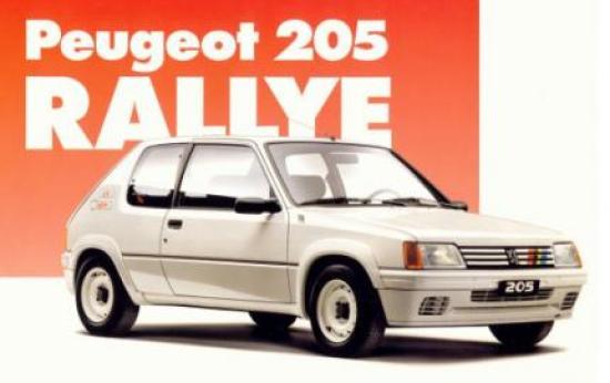 Image of Peugeot 205 Rallye
