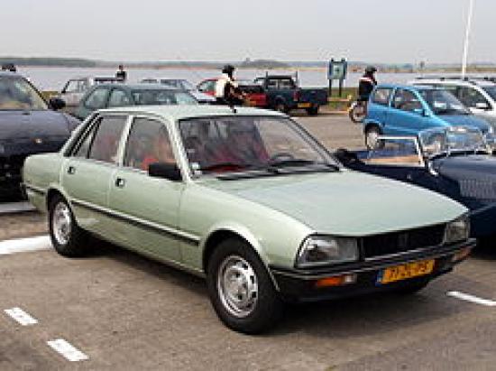 Image of Peugeot 505 GTD Turbo