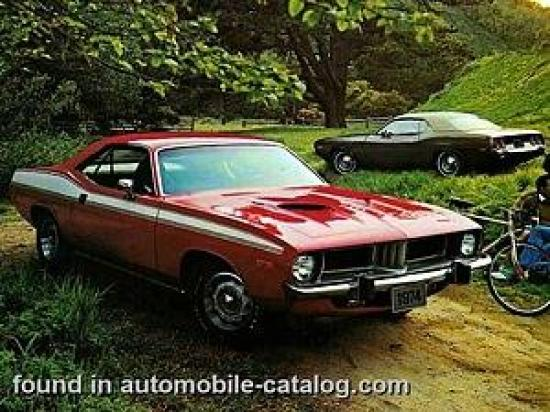 Image of Plymouth Barracuda 360 Hardtop Coupe