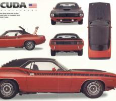 Picture of Plymouth Cuda AAR