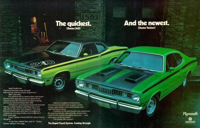 Image of Plymouth Duster 340
