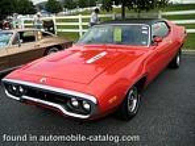 Image of Plymouth Roadrunner 340 Hardtop