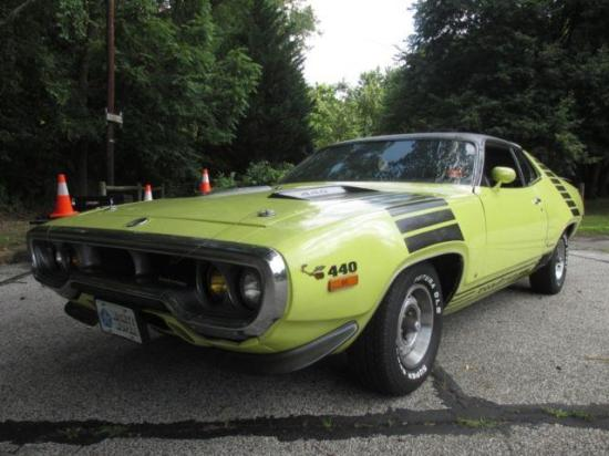 Image of Plymouth Roadrunner 440-6 Hardtop