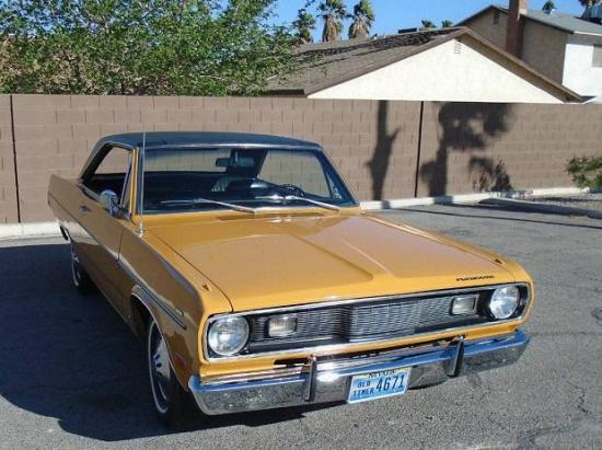 Image of Plymouth Valiant Scamp 318 V8