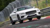 Cover for Polestar 1 tested at the Nürburgring!