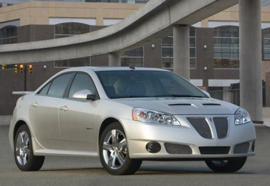 Image of Pontiac G6 GXP Street Edition Sedan