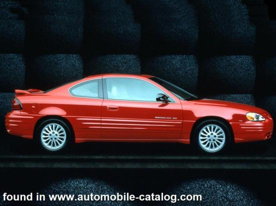 Image of Pontiac Grand Am SE Coupe 3400 V6