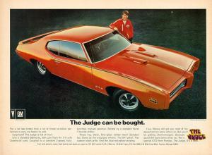 Photo of Pontiac GTO Judge Ram Air IV