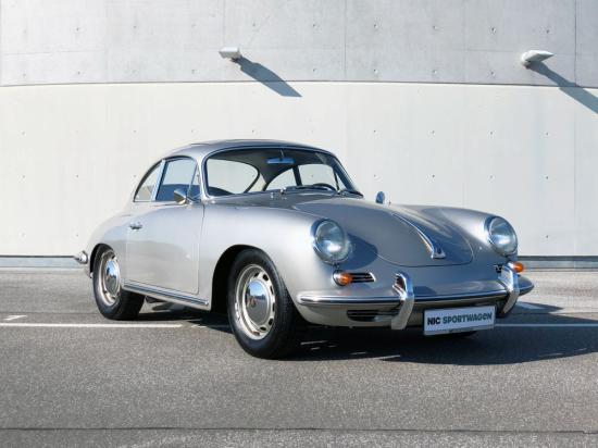 Image of Porsche 356 C 1600 SC Cabriolet
