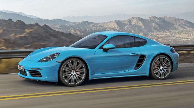 Image of Porsche 718 Cayman