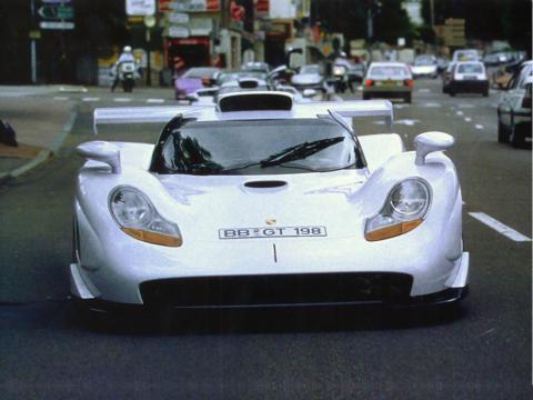 Goueslard 24 ORE LE MANS DECAL 1//43 Porsche 911 GT1 #33 Pedro Lamy Hanne