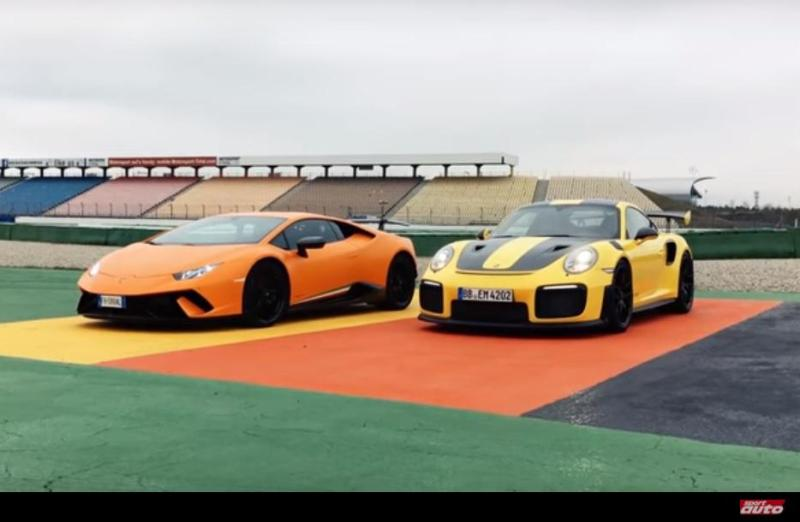 Cover for Porsche 911 GT2 RS sets new Hockenheim record, beats Huracán Performante
