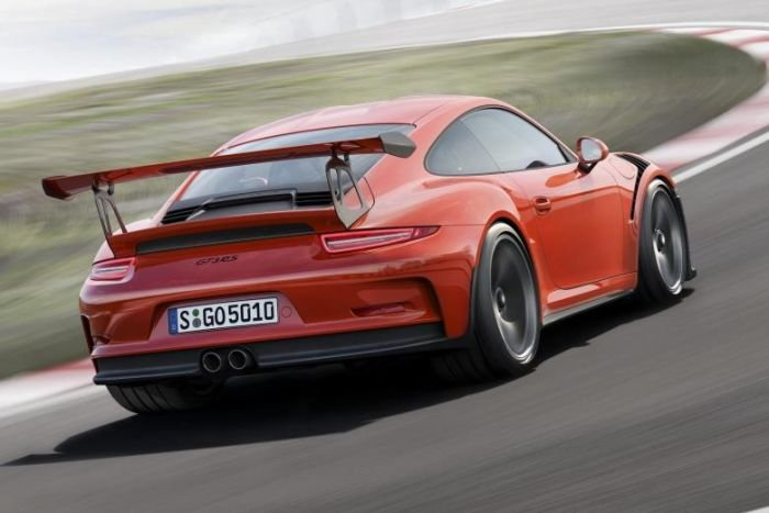 Porsche gt3 specifications