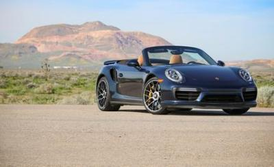 Image of Porsche 911 Turbo S Cabriolet