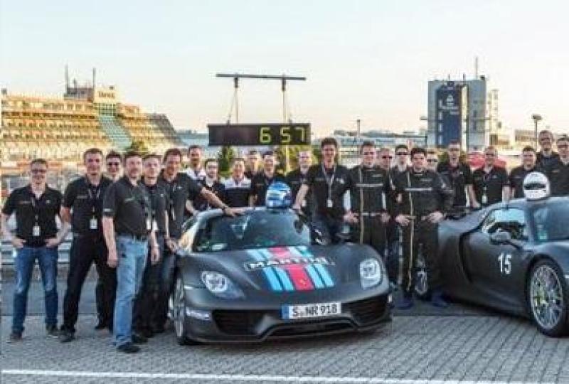 Cover for Porsche 918 breaks Nurburgring Nordschleife record, McLaren P1 is next