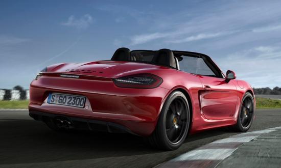 Image of Porsche Boxster GTS