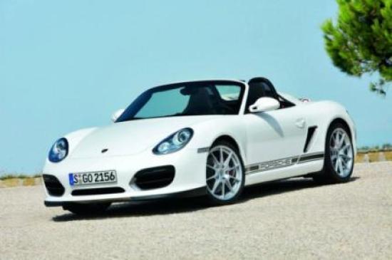 Image of Porsche Boxster Spyder