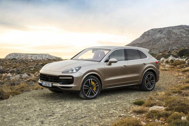Image of Porsche Cayenne Turbo