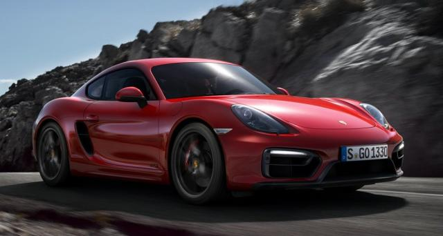 Image of Porsche Cayman GTS