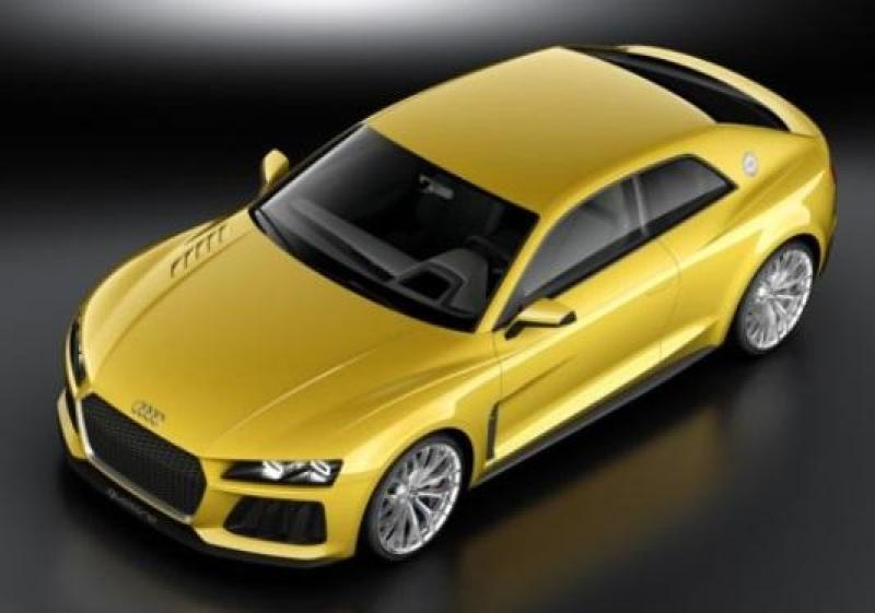 Cover for Quattro concept gets all techie and serious