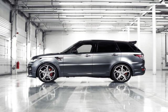 Image of Range Rover Sport SVR