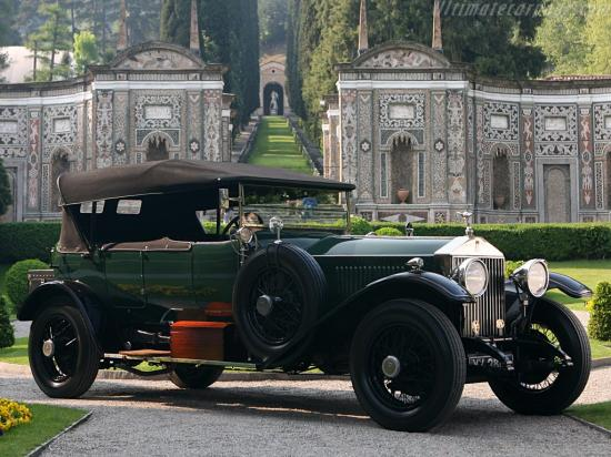 Image of Rolls-Royce Phantom I Grosvenor Open Tourer
