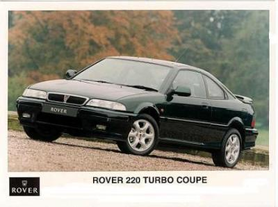 Image of Rover 220 Coupe Turbo