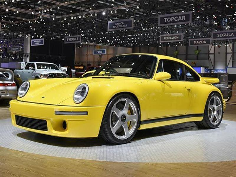 Cover for RUF CTR is back with 700hp H6 engine, 225mph top speed!