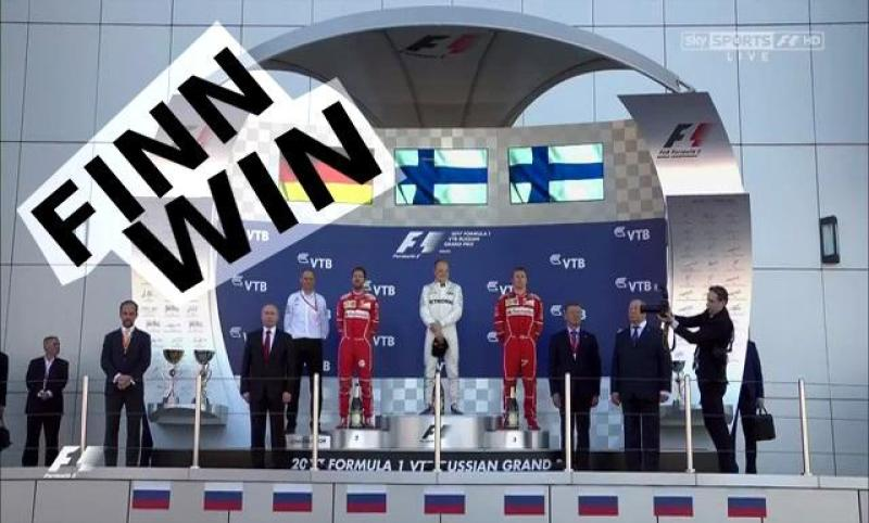 Cover for Russian Grand Prix in Sochi - hollow victory for Mercedes