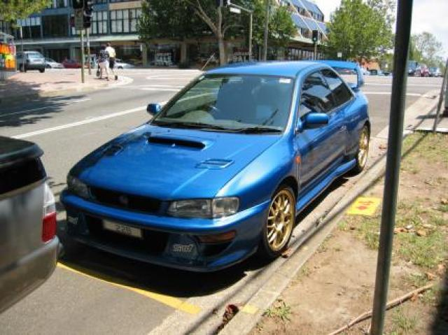 Image of Subaru Impreza 22B STI Version