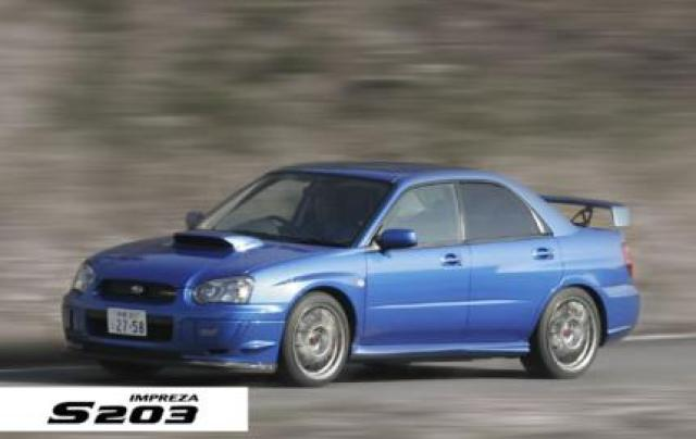 Image of Subaru Impreza S203