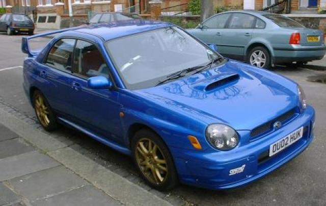 Image Of Subaru Impreza Turbo