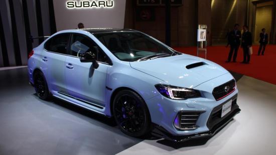Image of Subaru WRX STI S208