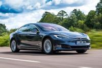 Cover for Tesla Model S extended range