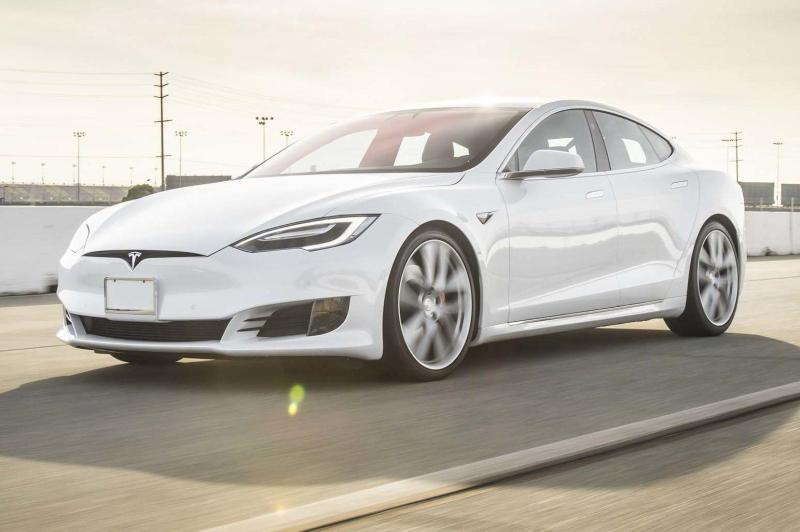 Cover for Tesla Model S P100D does 0-60 in 2.28 seconds