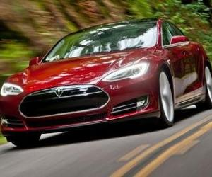 Picture of Tesla Model S P85