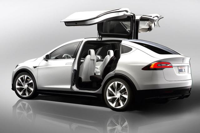 Image of Tesla Model X P90D