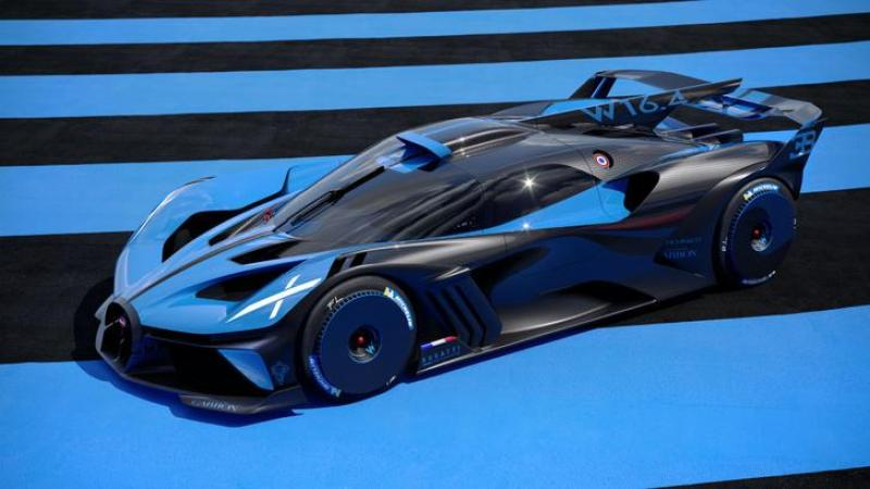 Cover for The Bugatti Bolide is a crazy, track-focused hypercar!