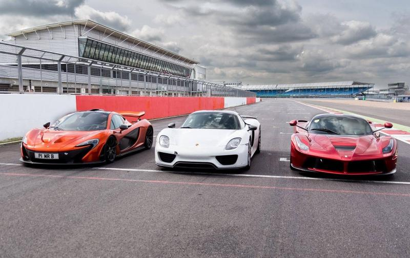 "Cover for The ""definitive"" McLaren P1, Porsche 918 and Ferrari LaFerrari test has arrived"
