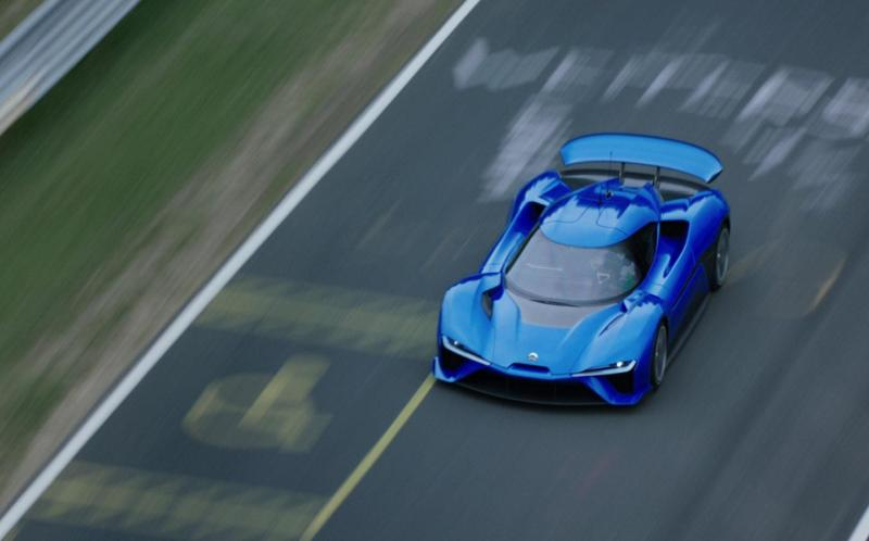 """Cover for The """"shady"""" Nio EP9 Nürburgring lap record"""