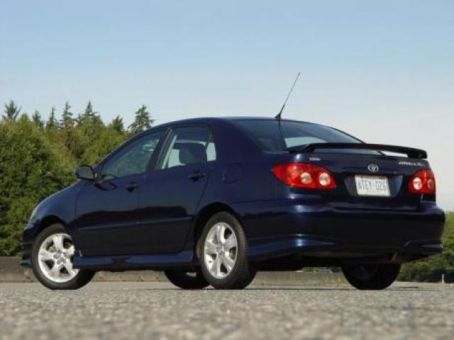 2005 Toyota Corolla Xrs >> Toyota Corolla Xrs Laptimes Specs Performance Data
