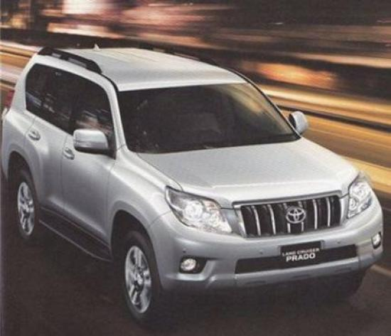 Image of Toyota Land Cruiser Prado V8