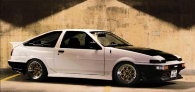 Image of Toyota Sprinter AE86 Trueno