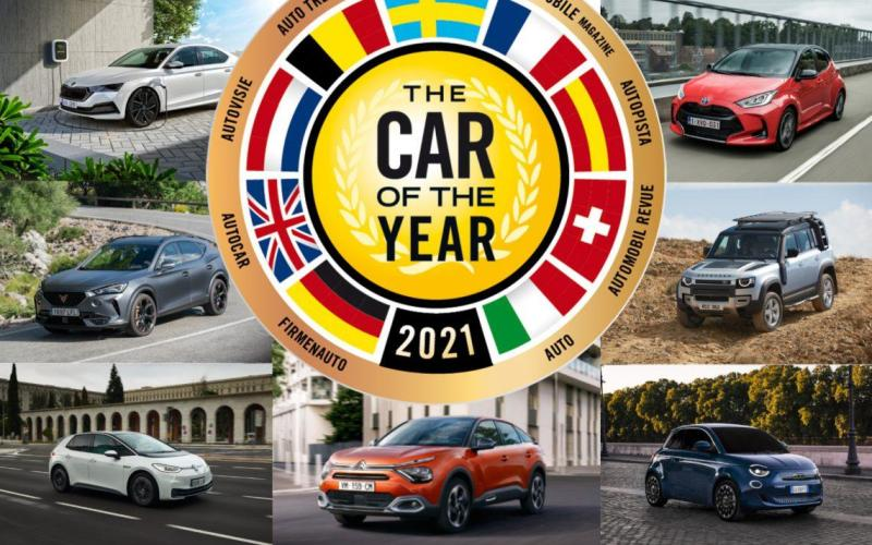 Cover for Toyota Yaris is the Car of the Year 2021!