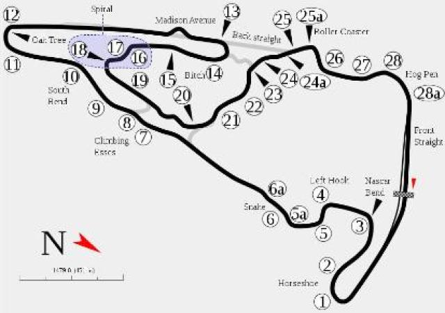 Image of Virginia International Raceway Grand East Course (pre 01/2014)