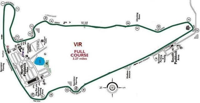 Image of Virginia International Raceway